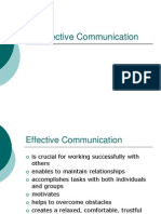 Effective Communication Sou