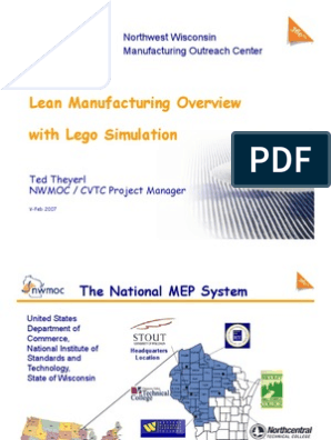 Lean Manufacturing Overview With Lego Simulation | Lean