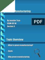Green Manufacturing2 2