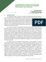 Ambientalizar La Universidad-un Reto Institucional Para El Aseguramiento de La Calidad en Los Ambitos Curriculares.