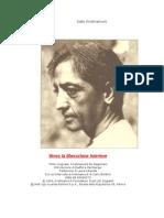 Krishnamurti, Jiddu - Verso La Liberazione Interiore