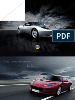 Lotus Evora Brochure