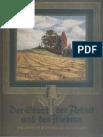 Cigaretten-Bilderdienst - Der Staat der Arbeit und des Friedens - Ein Jahr Regierung Adolf Hitler (1934)