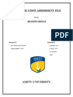 Communication Assessment File Aak