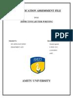 Communication Assessment File Sourabh