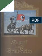 Cigaretten-Bilderdienst - Kampf ums Dritte Reich - Eine historische Bilderfolge (1933)