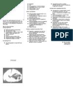 Stroke Leaflet(Bisaya)