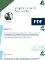 3. Buenas prácticas de Manufactura