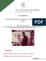 Luis Cencillo (Por Gabriel Arribas)