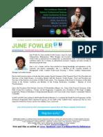 Caribbean Work Life Balance Makeup Conference 2014_JUNE FOWLER