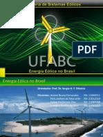 Apresentação G8 - Energia Eólica no Brasil