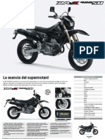 Folleto Dr-z400sm k8