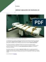 08-04-2014 Vértigo Político - Senado pide detener ejecución de mexicano en EU.