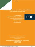 GSK Case Study & PR Plan