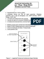 Manual dos Esrobos de Potência 750W / 1500W - Luz de Prata