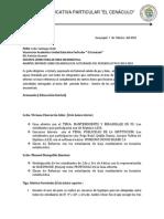 INFORME DE INNOVACIÓN DE AREA CHELE