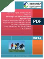Proyecto Psi Del Aprendizaje y Del Desarrollo
