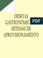 Ofertas Gastronomicas y Oprviciomanintos