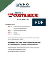 Costa Rica Application