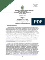 CFB Gagetown Agent Orange Information Paper Update 1