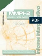 Ejemplo Informe MMPI-2