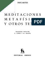 Descartes Ren . Primera y Segunda Meditaci n