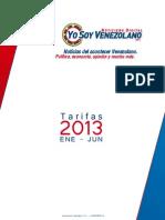 Tarifas Yo Soy Venezolano Online