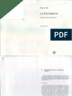 4 La Poliarquía