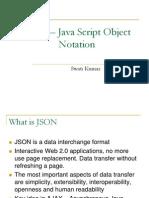 JSON – Java Script Object Notation_Swati_Kumar