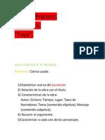 TP Tuya  - Claudia Piñeiro . Lucas Cicerchia