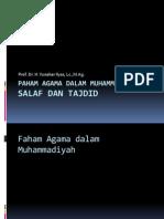 Salaf Dan Tajdid Muhammadiyah