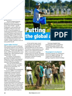 Rice Today Vol. 13, No. 2 Putting Rice on the Global Agenda