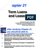 Term loan and leases