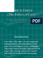 The Ethics of Care Brown University