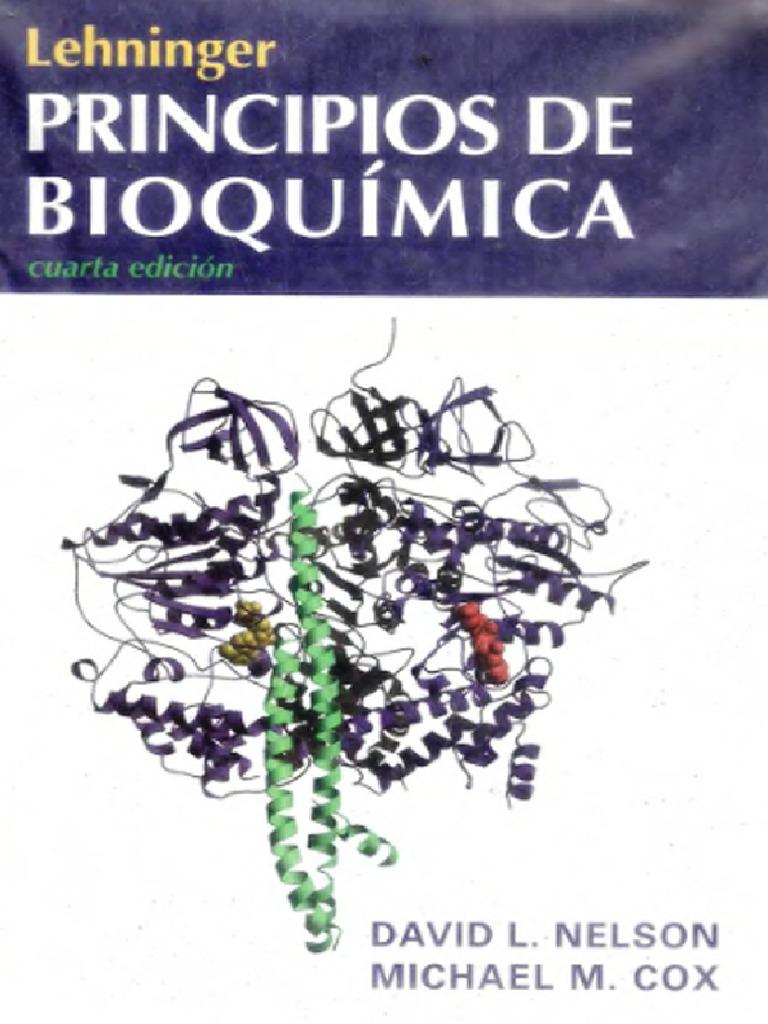 Lehninger Princípios De Bioquímica 4ta Edición