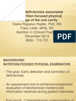 nutrition-focused physical findings of-3