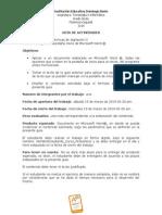 GUÍA DE ACTIVIDADES MANEJO PESTAÑA INICIO- copia