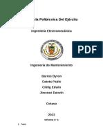 Mantenimieto Informe