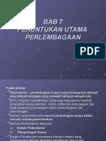 bab 7 peruntukan utama perlembagaan