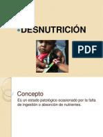 Desnutricion en El Pais