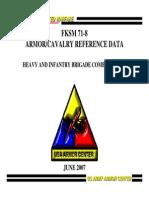 FKSM 71 8 June 2007 Heavy and Infantry Brigade Combat Team