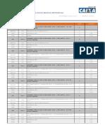 Catálogo de composições analíticas