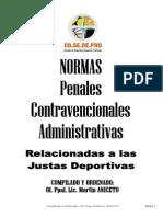 Compendio General de Normas - Justas Deportivas (Actualizado 2013).pdf