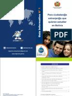 Guia Para Estudiantes Extranjeros Bolivia