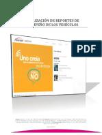 MANUAL VISUALIZACIÓN DE REPORTES DE DESEMPEÑO DE LOS VEHÍCULOS - Plataforma Coltrack