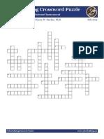cyberbullying crossword