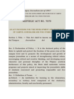 Campus Journalism Act of 1991