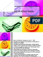 History of Alfred Noble