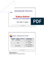 INDICES DuPont - Interpretacao Basica