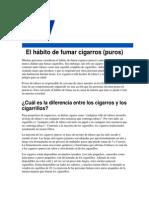 Cigarros vs Tabaco